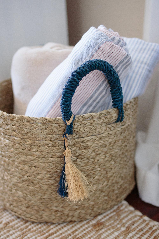 Coasal Woven Basket