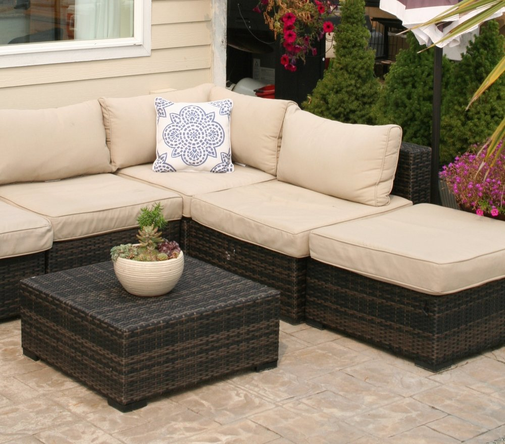 Patio Sectional Seating