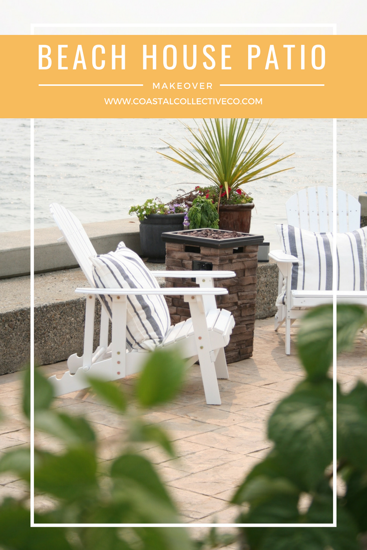Beach House Patio Makeover