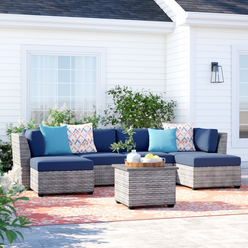 Patio Sectional and Conversation Set