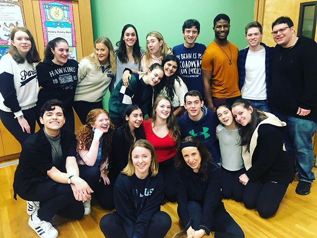 I'm a director! And here is my amazing cast and creative team for Side Show!! Thankful for all these kiddos. @applausenewyork