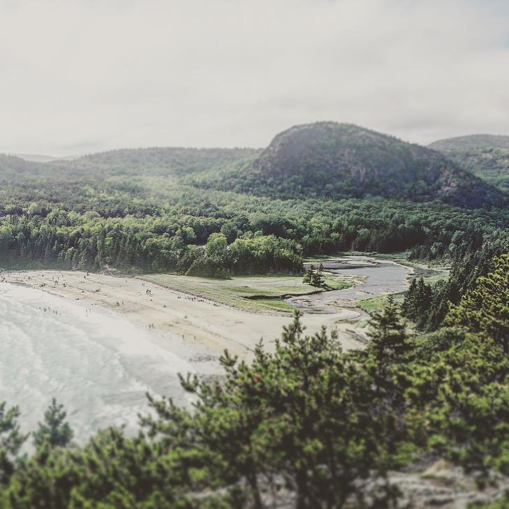 Sand Beach, Mount Desert Island, Maine