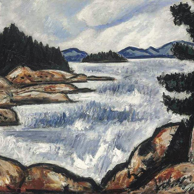 Maine's greatest painter. #marsdenhartley
