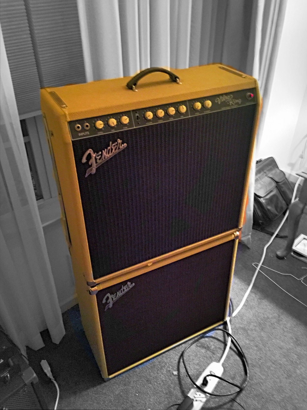 Fender Vibro King With Matching Cabinet