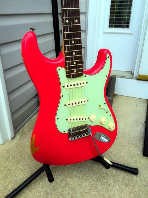 Fender Fiesta Red Stratocaster Relic