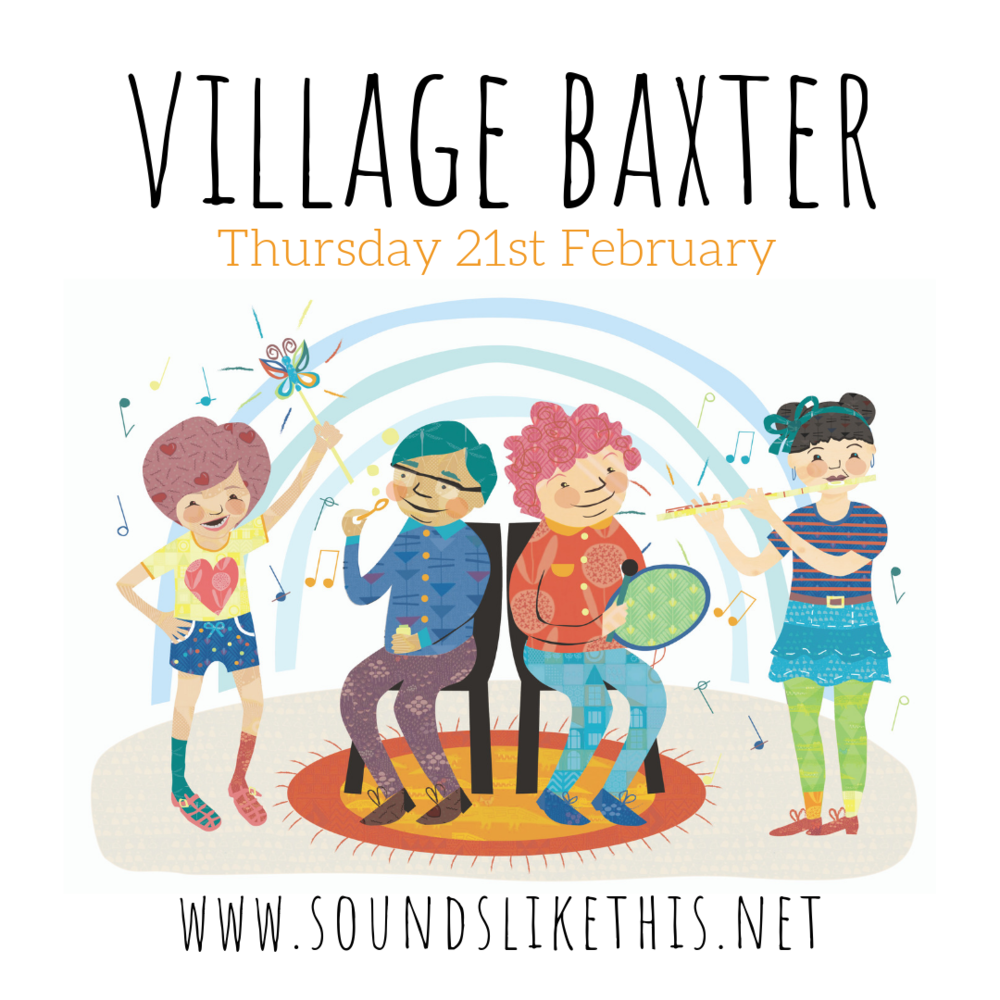 For the young and the young at heart. - Once a month Sounds Like This and it's network of families are welcomed into The Manor at Village Baxter to make music with the residents. It is a delightful morning of simple joys, open to all who may wish to come.Bookings are available through the website. Regular sessions have now concluded for 2018 and will resume from February 2019, and will be held on Thursdays.For more information please contact us.