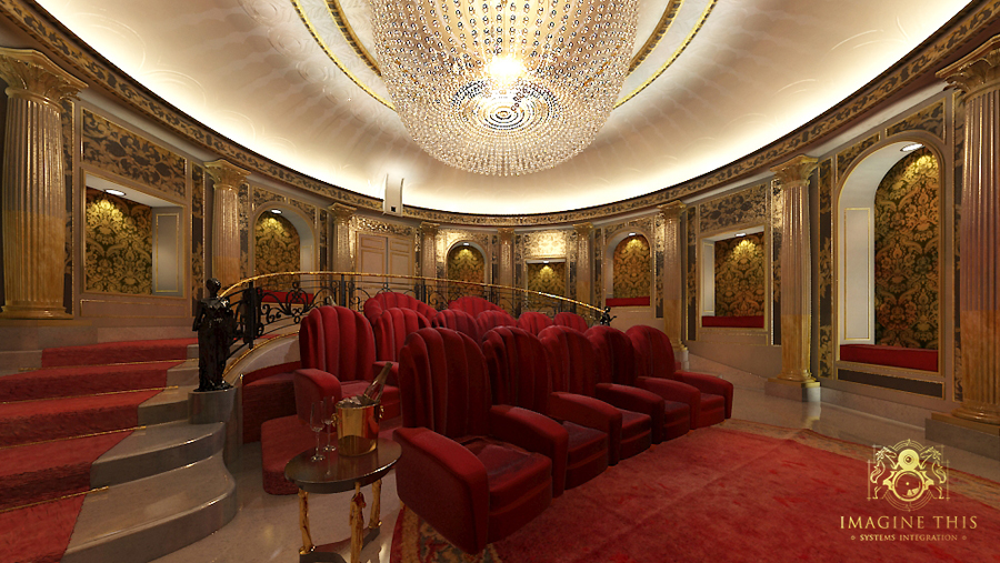 Imagine This UK - Home Theatre Design and Luxury Home Cinema Installation