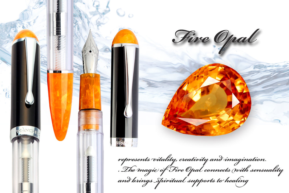 Fire Opal - Vitality, Creativity and Imagination.The magic of Fire Opal connects with sensuality and brings spiritual supports to healing.