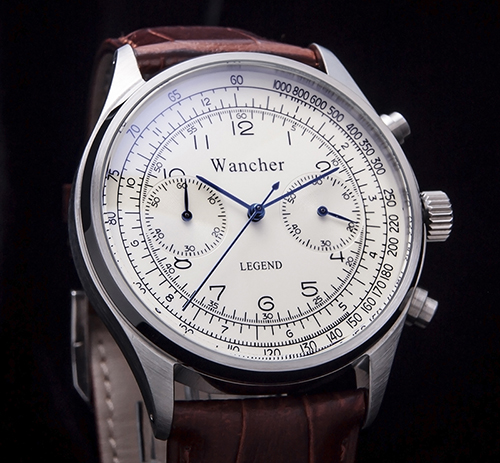 TACHYMETER - A tachymeter is a useful scale for computing speed based on travel time over a fixed distance traveled, which can be found on a watch's bezel or running around the outside of the dial. Or in other words, it is simply a means of converting elapsed time (in seconds per unit) to speed (in units per hour).