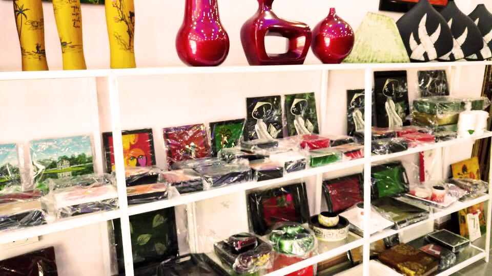 A art corner of artist Le Thanh Thai