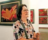 Painter Pham Chinh Trung