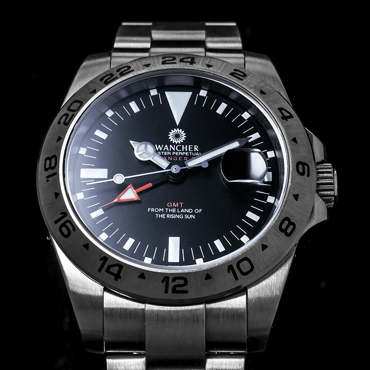 Ranger II Stainless Steel Dial Watch