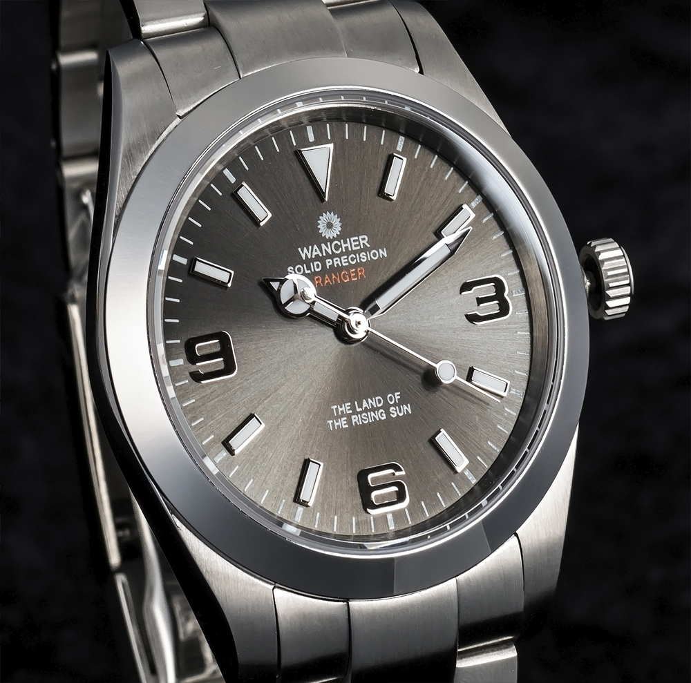 Ranger Gray Dial Watch