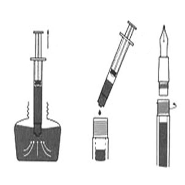 Fountain Pen with Eye Dropper