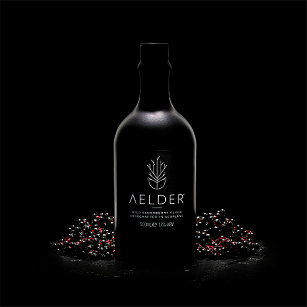 Aelder Elixir - In 2016 we launched our first drink on the market. Since its introduction Aelder Elixir is now a multi award winning liqueur that infuses elderberries with wild Scottish botanicals and young whisky.It can now be found in some of the most prestigious bars, restaurants, hotels and retailers in the UK and is the first of many products in the pipeline.To find out more or to purchase please visit aelderelixir.com