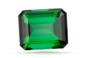 CARAT WEIGHT Tourmalines come in all shapes and sizes. The value change for size varies with the variety.