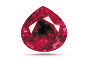 COLOR If a ruby's inclusions affect its transparency or brilliance they reduce the gem's value significantly.