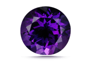 CUT Amethyst is cut into a variety of standard calibrated shapes, including rounds and ovals.