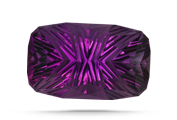 COLOR The finest amethyst color is strong reddish purple to purple with no visible color zoning.
