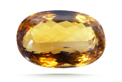 CLARITY  Eye-visible inclusions are not common in citrine. If present, they decrease its value.