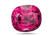 COLOR The most valued spinel colors are bright red, cobalt blue, and vivid pink and orange. Pale lavender is more affordable.