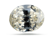 CARAT WEIGHT  Zircon in fine quality is rare in large sizes. Zircon weighs more than most gems of like size.