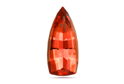 CUT Topaz crystals are usually columnar, and cut as oval or pear shapes to improve yield.