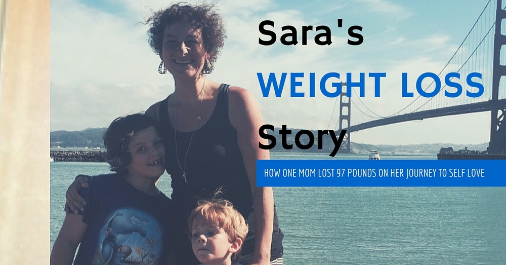 Sarah's Weight Loss Journey | How one mom lost 97 pounds on her journey to self love. | sayazuworld.com