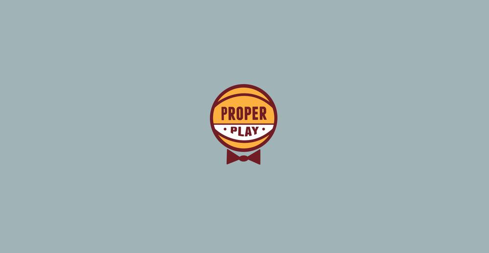 Proper Play | BRAND IDENTITY | ART DIRECTOR