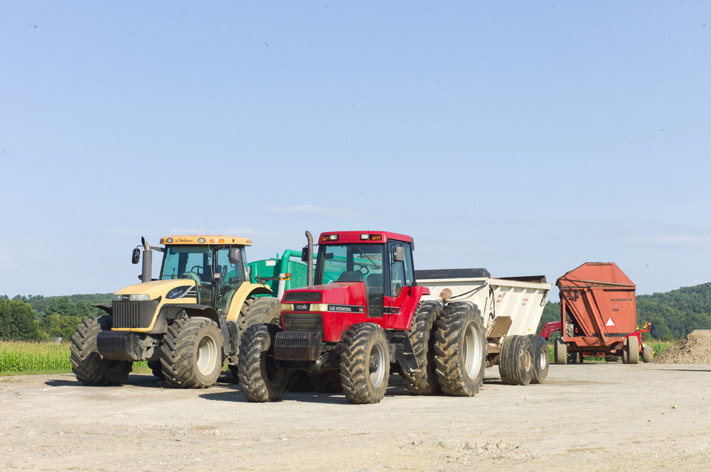 Part of the farm fleet