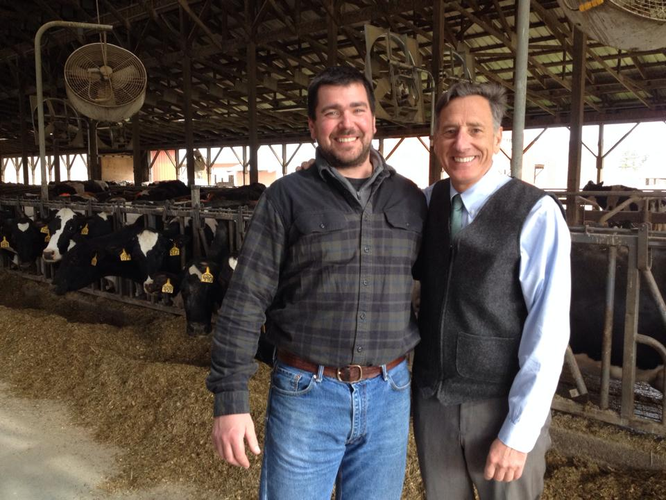 Governor Shumlin stops by for a visit