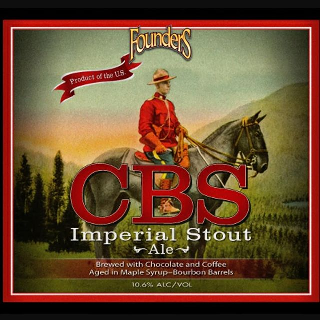 @foundersbrewing Tap Takeover this Wednesday @harrysfedhill featuring #CBS . . . . . #founders #foundersbrewing #craft #craftbeer #drinkcraftbeer #drinklocal #harrys #harrysbarandburger #burgers #sliders