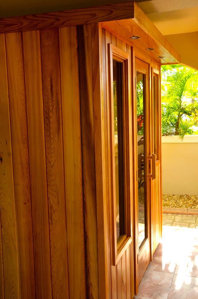 Sauna Kit - Exterior