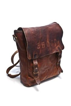 Vintage leather bag man – Trend models of bags photo blog