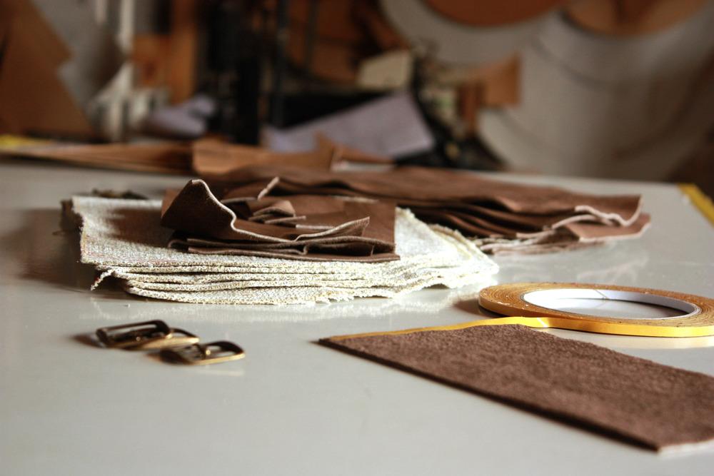 Marysavel.com blog feature on leather handbag line,Nubuck Cuir
