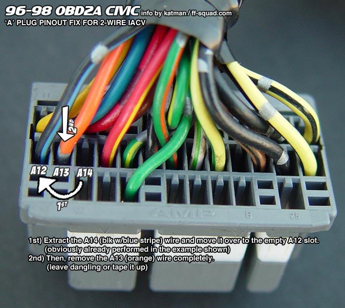 92 00 engine swap wiring the sixth gen rh sixwerks com vtec wiring obd2 wiring vtec obd2a