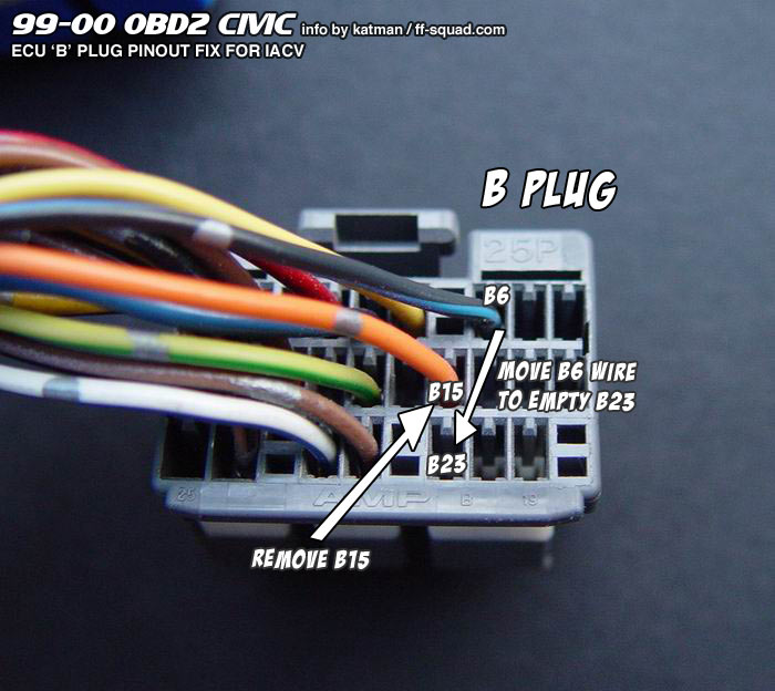 vtec wiring obd2a wiring diagram for light switch u2022 rh prestonfarmmotors co Ford OBD1 Pinout Diagram Obdo to OBD1 Diagram