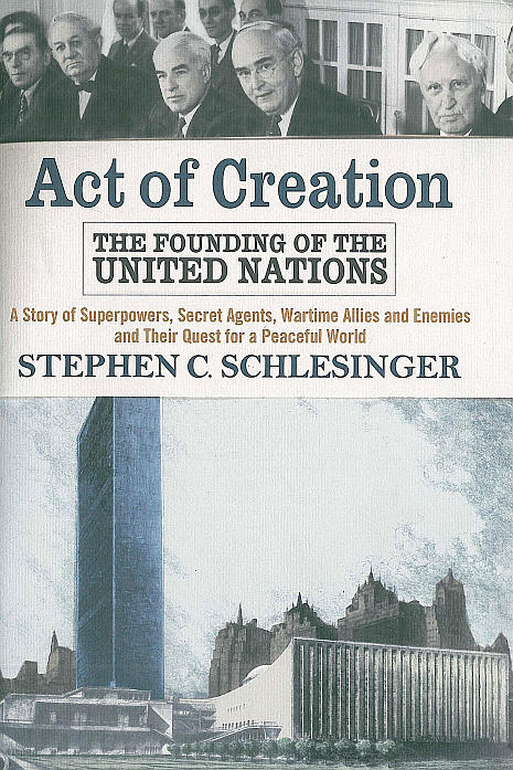 cover of Stephen Schlesinger's Act of Creation