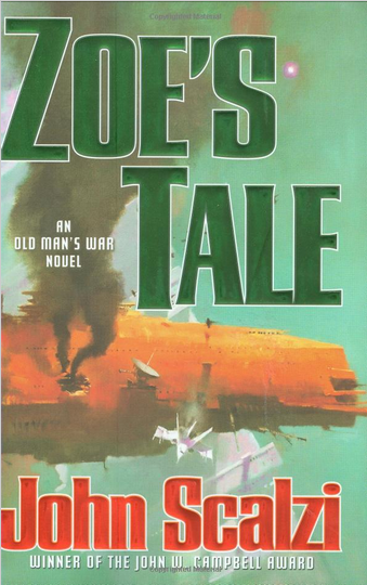 cover of John Scalzi's Zoe's Tale