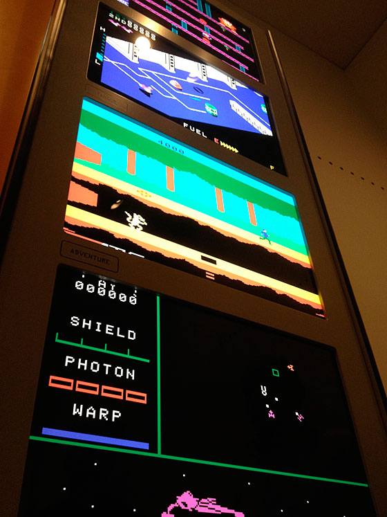 The Art of Video Games: Colecovision kiosk