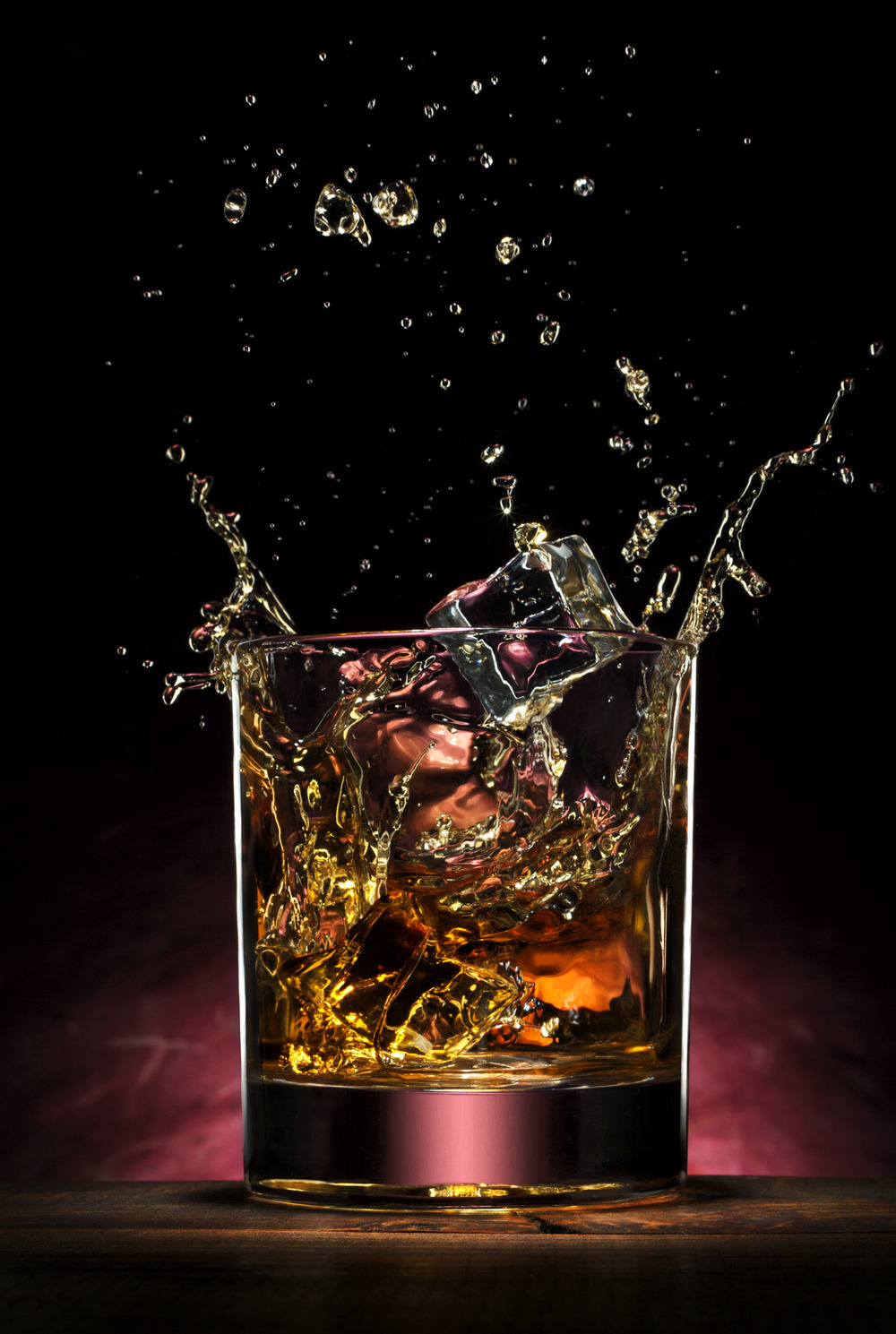 Fielder Williams Strain fiwist Nashville Product Photographer whiskey jack danials splash.jpg