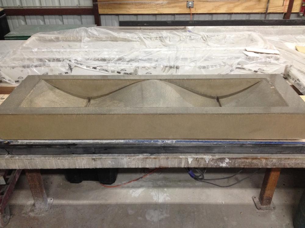 Double Concrete Wave Sink
