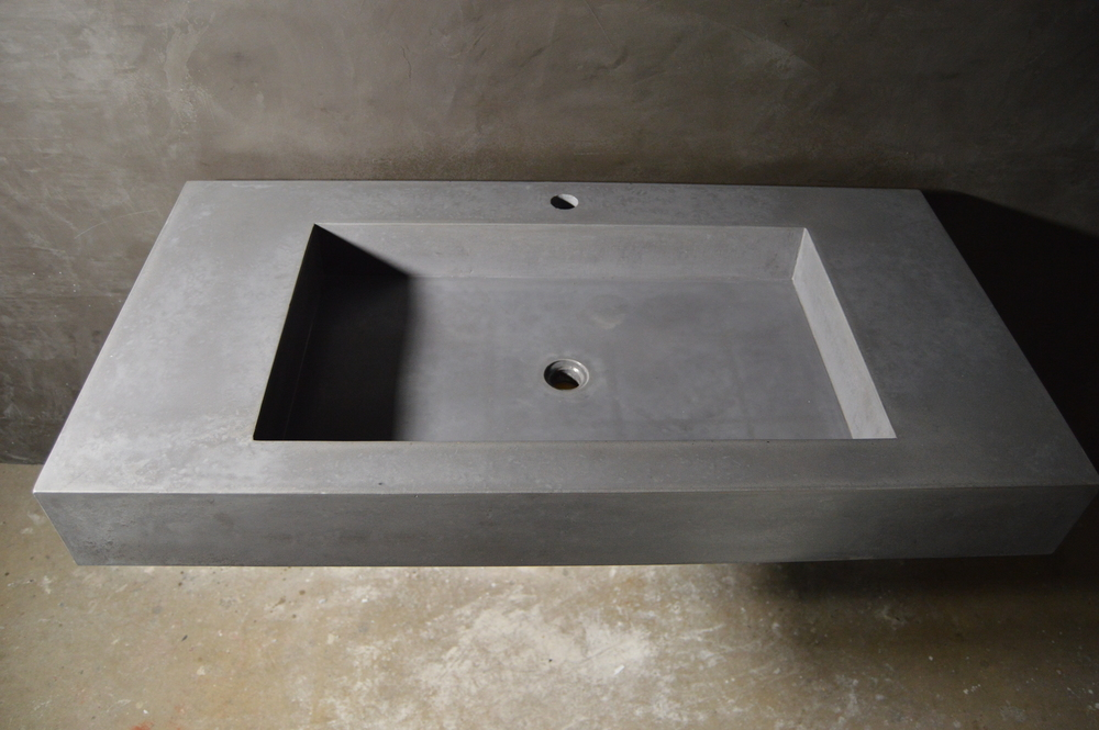 Concrete Trough Sink