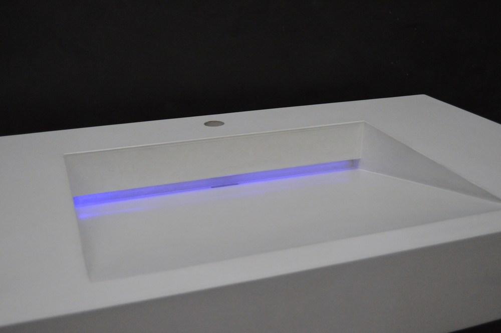 LED Concrete Ramp Sink