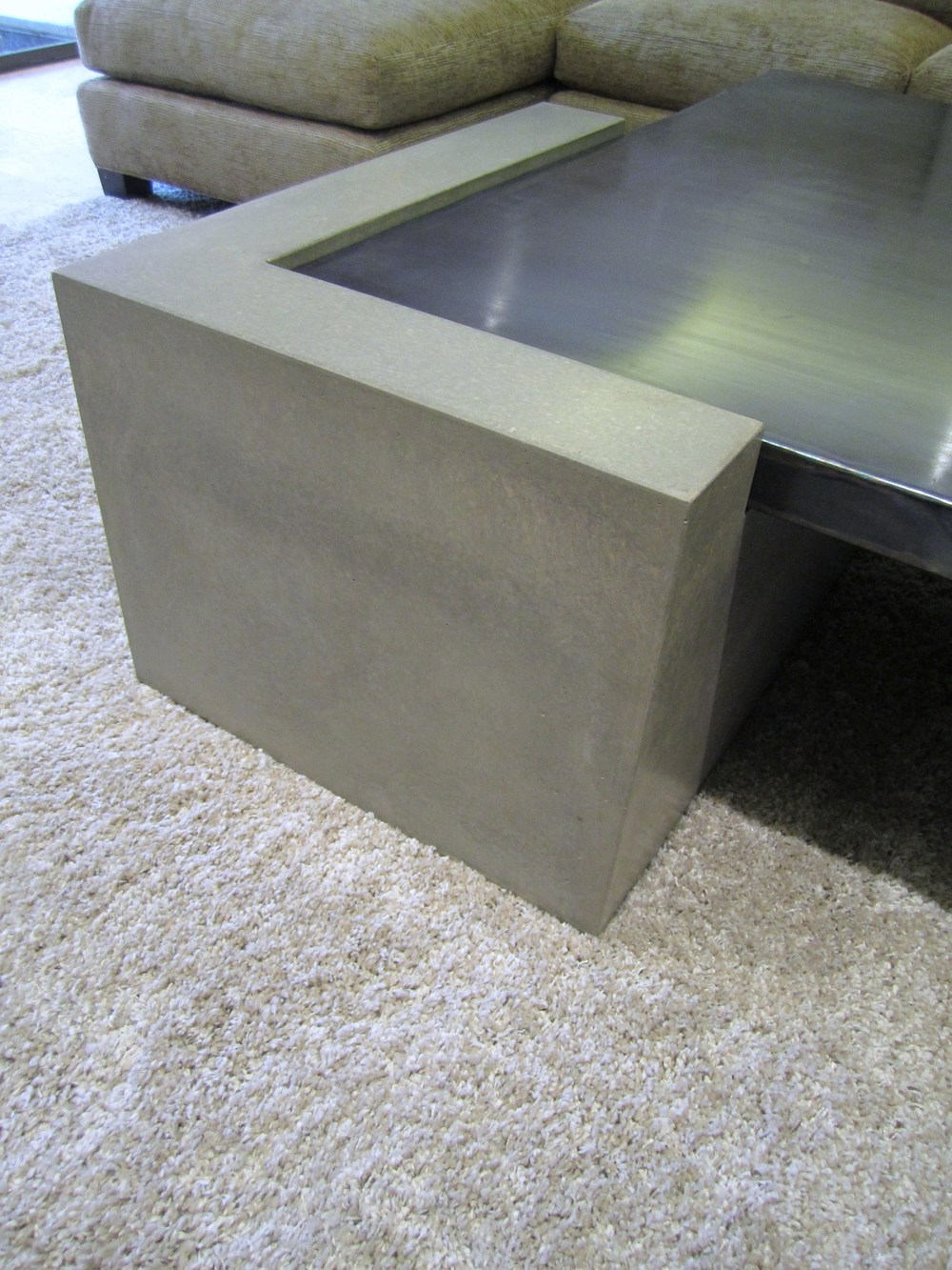 Concrete Coffee Table Plinth