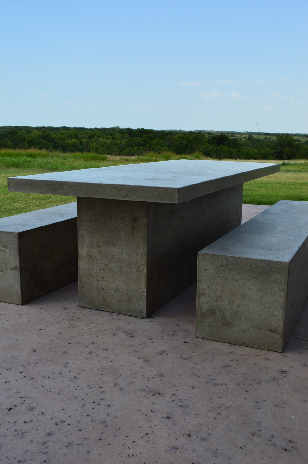 Monolithic Concrete Patio Set