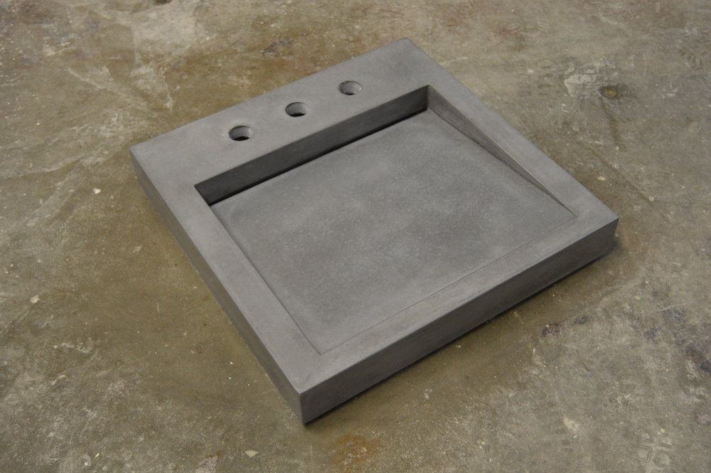 Concrete Mini Ramp Sink