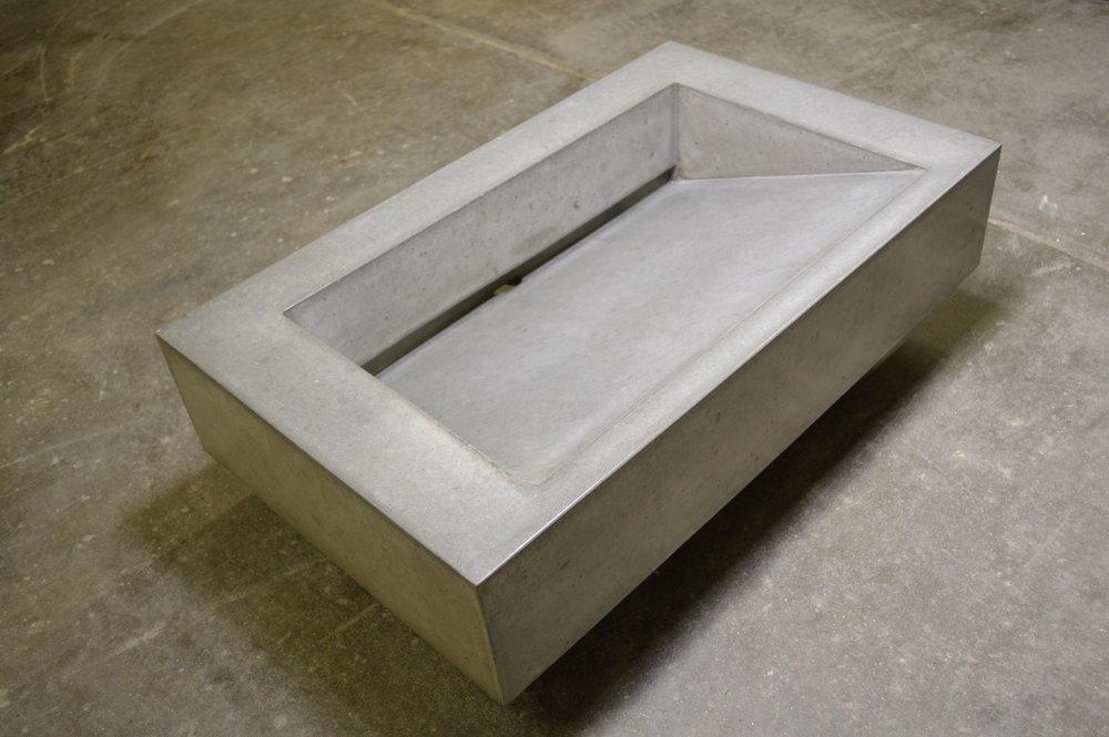 Concrete Ramp Sink