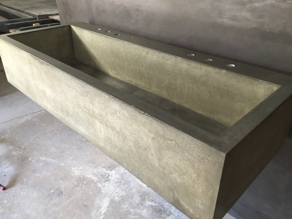 Large Farmhouse Trough Sink