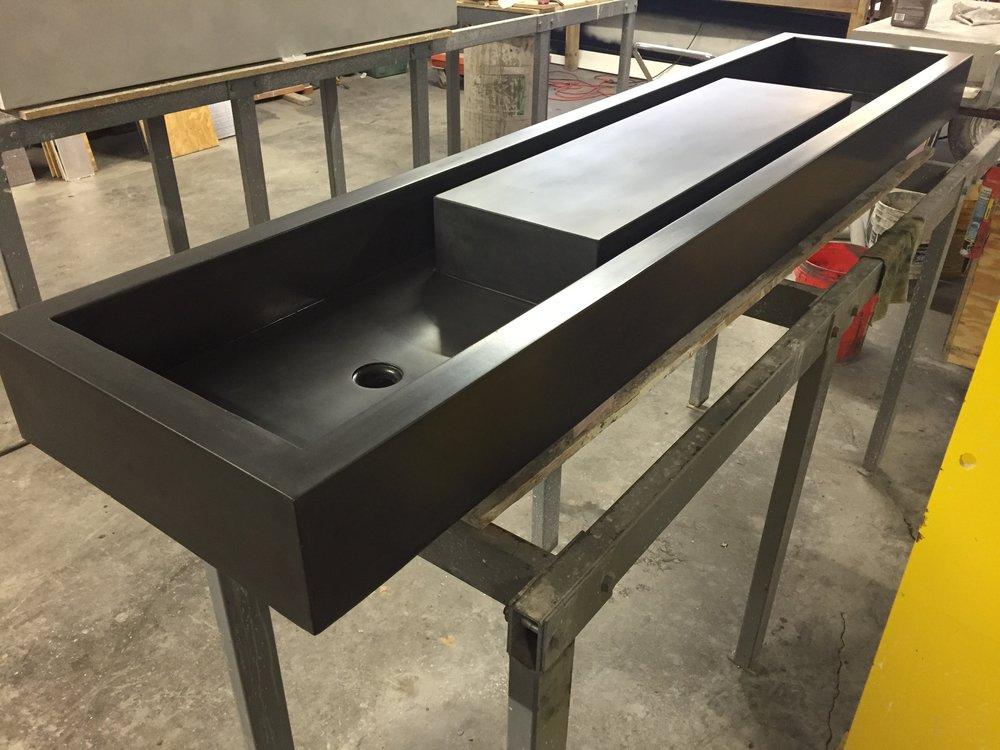 Concrete Moat Sink